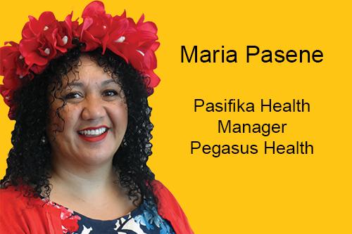 Congratulations to Maria Pasene, Pegasus Health Pasifika Health Manager