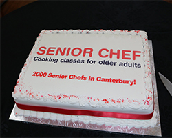 Mistletoe and Milestone for Senior Chef