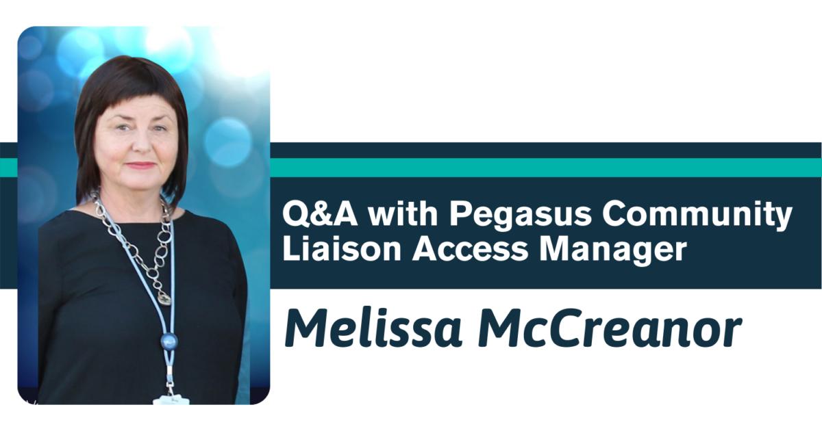 Q&A with Pegasus Community Liaison Access Manager, Melissa McCreanor