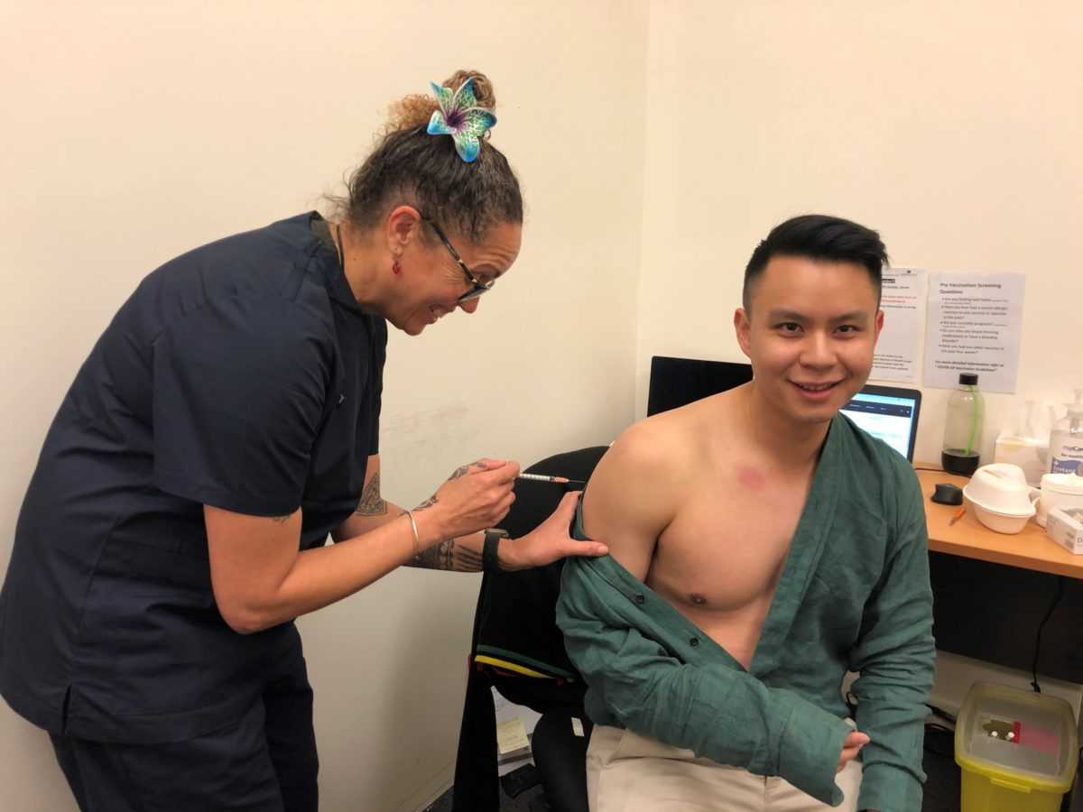 Barrington Partnership Makes Vaccination Easy
